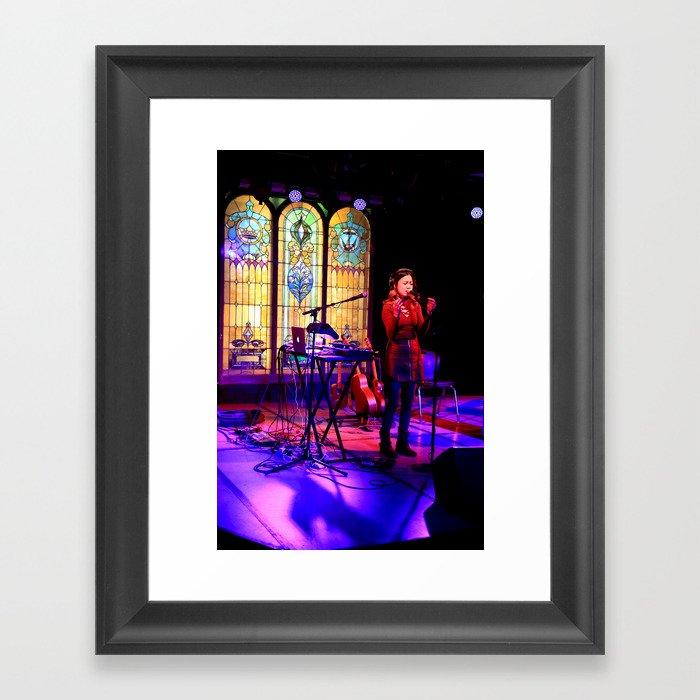 Kawehi in concert Framed Art Print