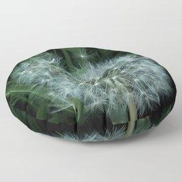 Dandelion 3 -diente de leon Floor Pillow