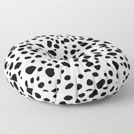 Polka Dots Dalmatian Spots Floor Pillow