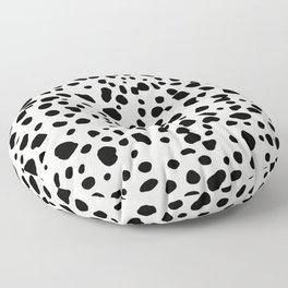 Polka Dots Dalmatian Spots Floor Pillow