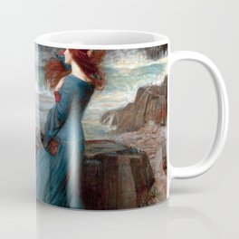 John William Waterhouse Miranda Coffee Mug