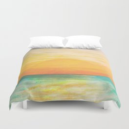 Summer Sunset Duvet Cover