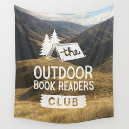 The Outdoor Book Readers Club Wall Tapestry