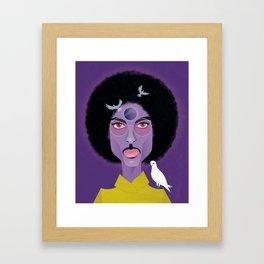 Purple Prince Framed Art Print