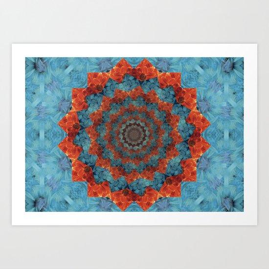 Blossoming woe Art Print