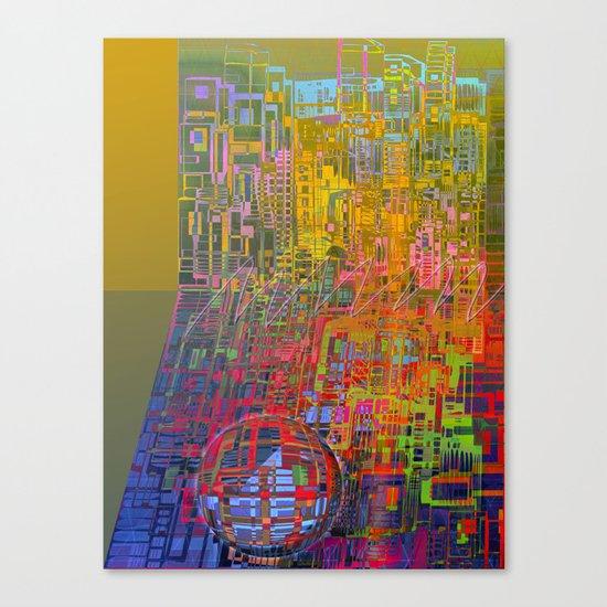 Summer / GALACTIC PLEASURES Canvas Print
