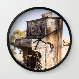 Music in the Meadow Wall Clock