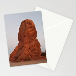 Valley of Fire, Moon Rise, Nevada Desert Stationery Cards