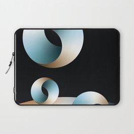 Blue Society Laptop Sleeve