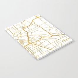 MINNEAPOLIS MINNESOTA CITY STREET MAP ART Notebook