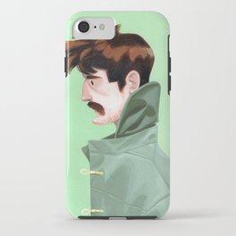 Brunette Man iPhone Case