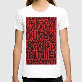 egypt script T-shirt