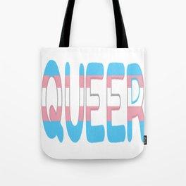 queer - transgender Tote Bag