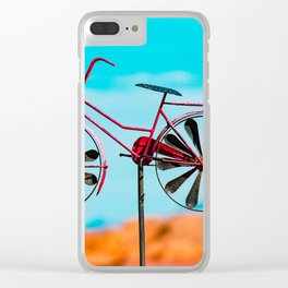 Riding High - I Clear iPhone Case