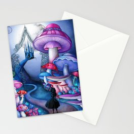 Alice - Gates to Wonderland Stationery Cards