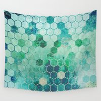 chemistry Wall Tapestries featuring Chemistry by Esco