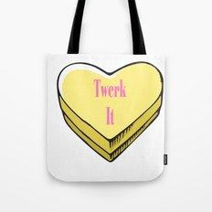 TWERK CANDY HEART Tote Bag
