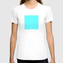 DPCSD Vivid cyan color T-shirt