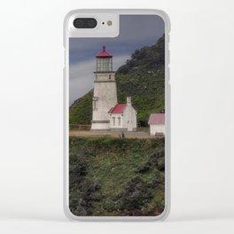 Heceta Head Lighthouse - Oregon Clear iPhone Case