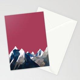Geo Mountain Range (Part 2) Stationery Cards