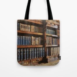 Knowledge - Antique Books on History & Law Tote Bag