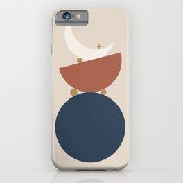 Balance Moon Phases iPhone Case
