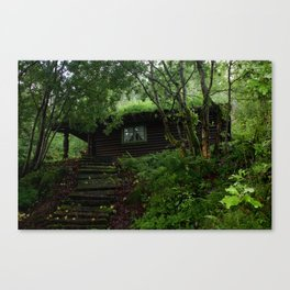 Whitch's house Canvas Print