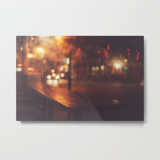 City night Metal Print