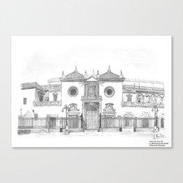 Plaza de toros Maestranza de Sevilla Canvas Print
