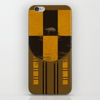 hufflepuff iPhone & iPod Skins featuring hufflepuff crest by nisimalotse