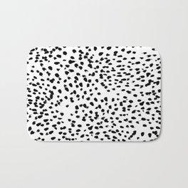 Dalmat-b&w-Animal print I Bath Mat