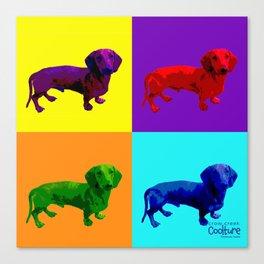 Wonder Weiners by Crow Creek Coolture Canvas Print