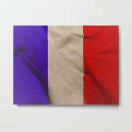flag of france Metal Print