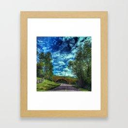 Blue Ridge Parkway No. 2 Framed Art Print