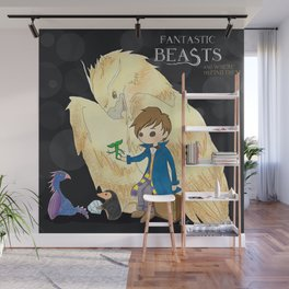 Fantastic beasts and where to find them. Wall Mural