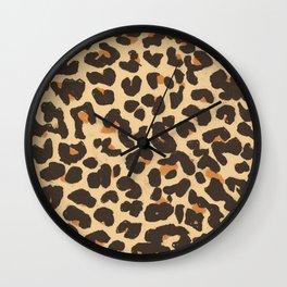 Just Leopard Wall Clock