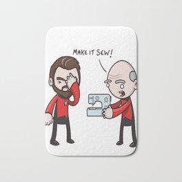 Make It Sew! - Star Trek Inspired Bath Mat