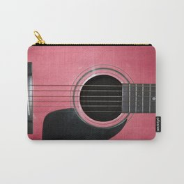 Pink Guitar Carry-All Pouch
