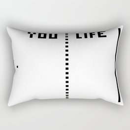 LIFE WINS Rectangular Pillow