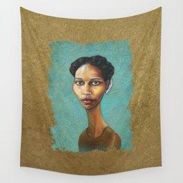 Portrait of Ayaan Hirsi Ali Wall Tapestry
