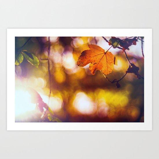 Fall into Autumn Art Print