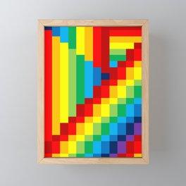 Fuzz Line #3 Framed Mini Art Print