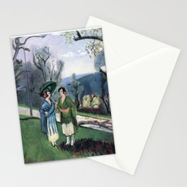 Henri Matisse - Conversation under the Olive Trees - Exhibition Poster Stationery Cards