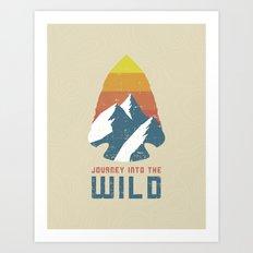 Journey Into the Wild Art Print