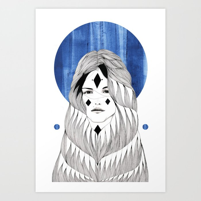 Winter Hymn Art Print