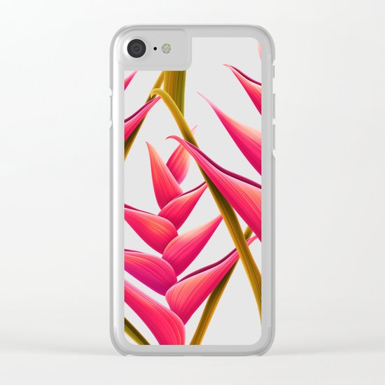 flowers fantasia Clear iPhone Case