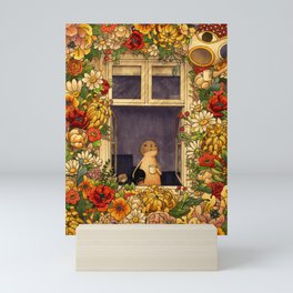 Flower Garden Mini Art Print