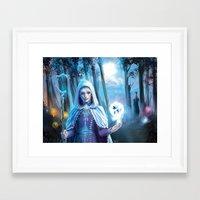 jack frost Framed Art Prints featuring Jack Frost by franzkatter