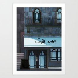 Café art Art Print