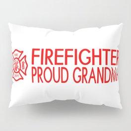 Firefighter: Proud Grandma (Florian Cross) Pillow Sham